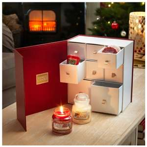 Yankee Candle Christmas Discovery Gift Set (2 Small Jars + 6 Votives + 6 Wax Melts £20 delivered at Yankee Candle