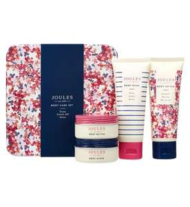 JOULES MINI TREAT TIN GIFT SET IN PINK DITSY £5.00 @ BOOTS. FREE CLICK & COLLECT