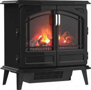 DIMPLEX OPTI-MYST GRAND NOIR ELECTRIC STOVE £498 Delivered From B&Q