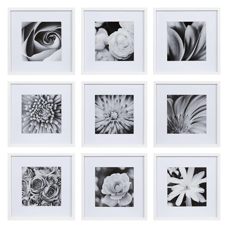 Nielsen Gallery Perfect Multi-Aperture Piece Frame, 9 Photo, White £40.00 @ John lewis