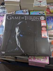 Game of Thrones 2018 calendar down from £7 to £0.25. In store only @ The works