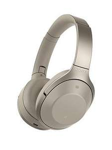 Sony MDR-1000X Bluetooth Noise Cancelling Headphones - Very