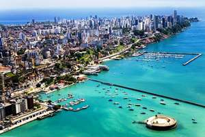 Lisbon to Salvador, Brazil one way with Tap Air Portugal 10 May £361.40pp @ Flytap