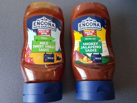 Thai Mild Sweet Chilli Sauce & Mexican Smokey Jalapeno Sauce - 49p @ Heron Foods