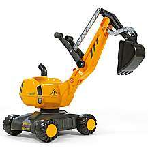 Rolly Toys Mobile 360 Excavator Ride On  / Rolly Toys John Deere 360 Excavator Ride On £47.99 w/code @ Halfords