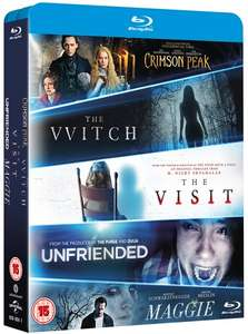The Witch/Crimson Peak/Maggie/The Visit/Unfriended [Blu-ray] @ Zoom £8.00