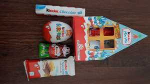 Kinder mini mix contains 4 kinder chocolates £1 instore at b+m