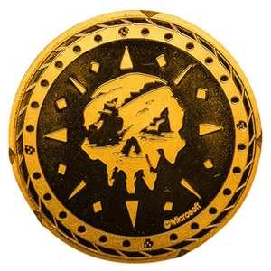 Sea of Thieves Collectors Coin: Gold Variant - Zavvi Exclusive 1000 back in stock - £15.98 Delivered