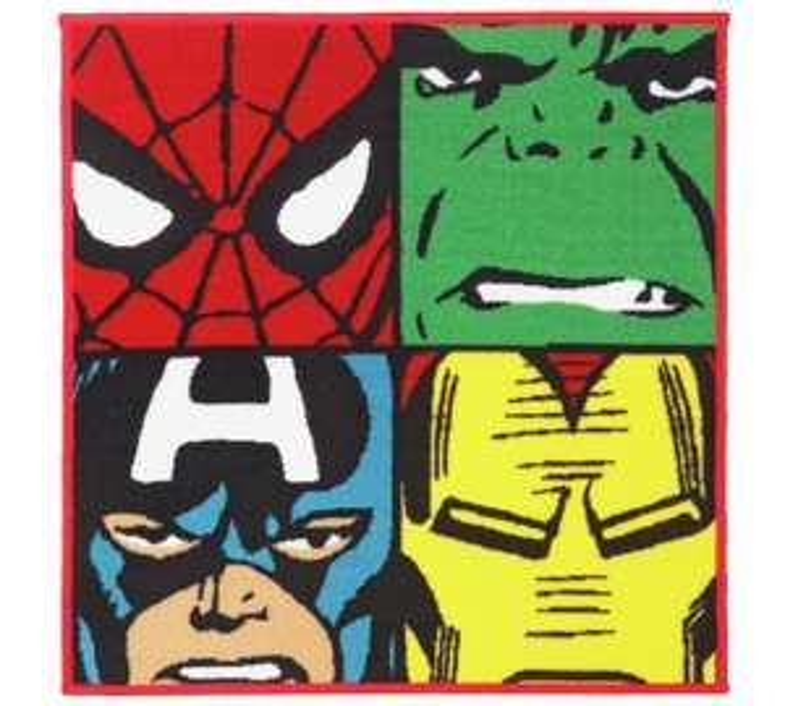 Marvel rug 80cm x 80cm £6.99 at Argos