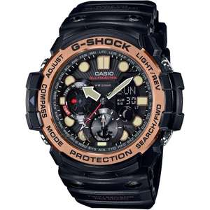 Casio G-Shock Gulfmaster Black Resin Watch, £110 (with code) at H. Samuel