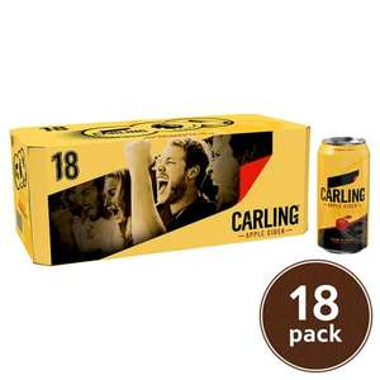 Carling Apple Cider (18 x 440ml) £7.80 @ Tesco East Kilbride