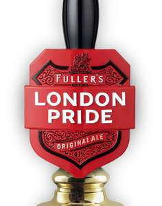 Free pint of Frontier at Fuller's pubs by tweeting or posting on Facebook to obtain a code