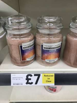 Large Yankee Home Inspiration candle £7 instore @ Tesco (Bury)