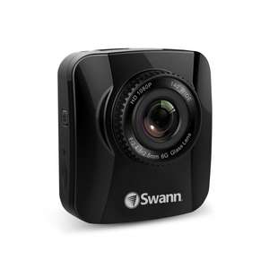 Navigator HD Dash Camera - 1080p Portable Vehicle Recorder with GPS Tracking - £49.99 @ Swann
