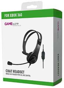 GAMEware Xbox 360 Chat Headset £3.00 @ GAME