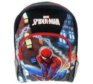 Spider man backpack £5.99 was £14.99, Coat £12.49 all sizes @ Argos