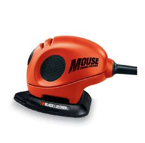 BLACK+DECKER KA161BC Mouse Detail Sander with Accessories £16.99  (Prime) / £21.74 (non Prime) at Amazon