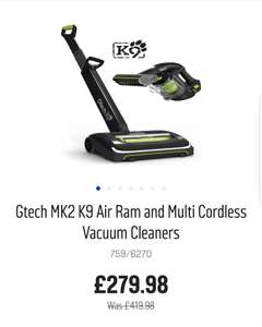 Gtech k9 Bundle £279.98 at Argos