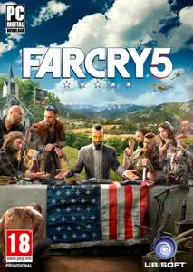 Far Cry 5 for PC £41.99 / £39.89 with code @ CD KEYS