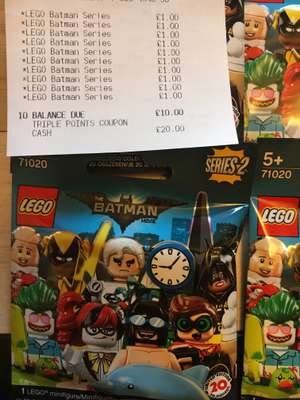 Lego Batman Series 2 Minifigures - £1 instore at Sainsburys