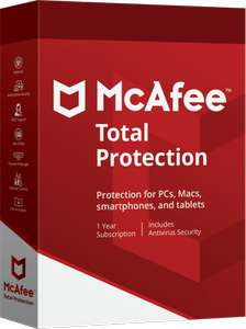 70% Off - McAfee Total Protection 2018 Antivirus, 1 year subscription £24 McAfee  Store