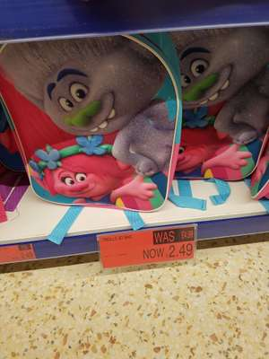 Troll backpacks Reduced to £2.49 at  b&m park road Liverpool