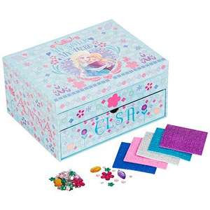 Disney frozen mosaic sparkle jewellery box £3 at The Entertainer