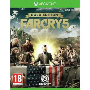 Far cry 5 Gold Edition xbox one/PS4 £58.99 at argos