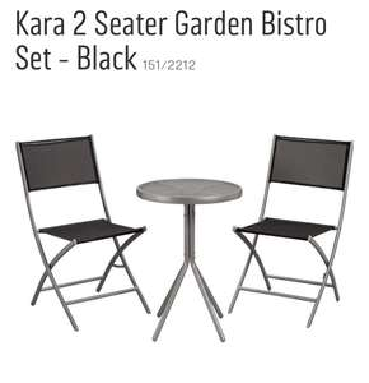 Bistro Set - Argos - £34.99