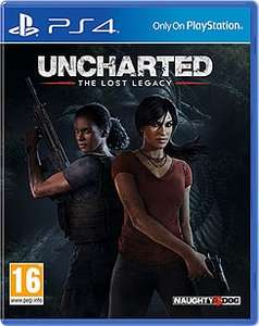 Uncharted The Lost Legacy (PS4) £13.49 delivered @ currys (Amazon price matched)