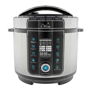 Pressure King Pro 20-in-1 Electric Pressure Cooker, 6 litre, 1000 W, Chrome - £59.99 @ Amazon / Dispatched from and sold by High Street TV