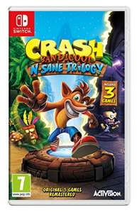 Crash Bandicoot N-Sane Trilogy for Nintendo Switch £26 Amazon w/prime £28 w/o