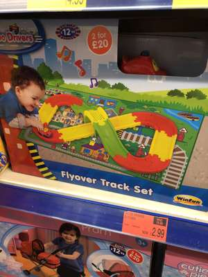GoGo drivers track set £2.99 at b&m bargains