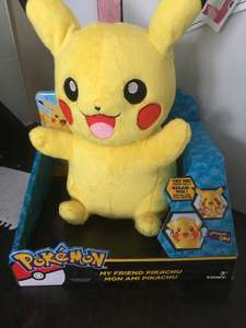 My friend pikachu £5.99 instore at Home Bargains