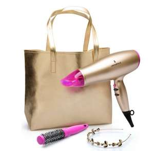 Lee Stafford Your Time To Shine Hairdryer Kit - 2200w Hairdryer, tote bag, headband, thermal Brush £19.99 @ Argos