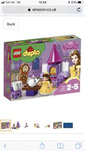 Lego Duplo Belle's Tea Party £11.99 (Prime) £16.74 (Non Prime) @ Amazon/Smyths