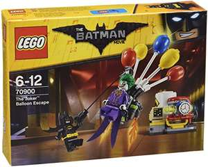 LEGO 70900 Batman Movie The Joker Balloon Escape Batman Toy - £7.99 Prime / £11.98 non Prime @ Amazon