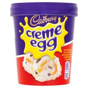 Cadbury Creme Egg Ice Cream Tub - 490ml - £2 online / in-store @ most supermarkets