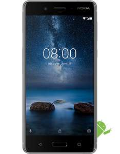 Nokia 8, £275.49 at Carphone Warehouse (£259.99 upfront cost / £15.50 monthly rolling contract)