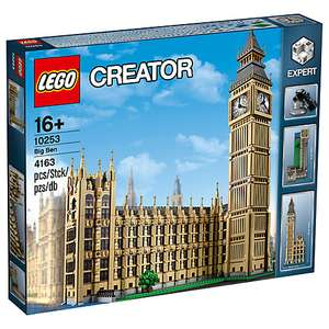 LEGO Creator Expert 10253 Big Ben - £143.99 delivered @ John Lewis