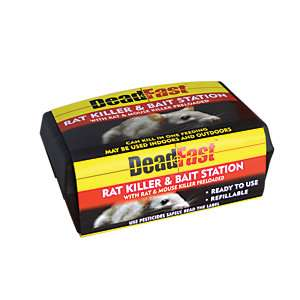 Mouse/Rat bait box, with 200g of bait - £1 @ Wickes