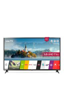 LG 43UJ630V 43 inch, 4K Ultra HD HDR, Freeview Play, Smart, LED TV - £349.99 @Very