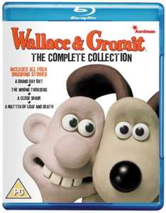 wallace and grommit the complete collection 20th anniversary Blu ray - £6.99 @ Zoom