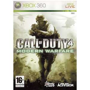 [Xbox One/360] Call of Duty 4: Modern Warfare - £3.50 in-store / £5.00 delivered - CEX (Preowned)