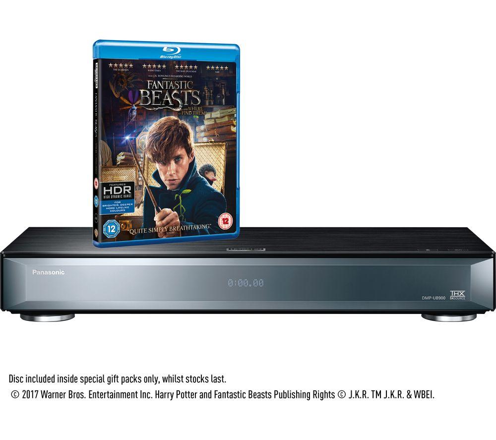 PANASONIC DMP-UB900EBK Smart 4k Ultra HD 3D Blu-ray Player - £329.97 @ Currys