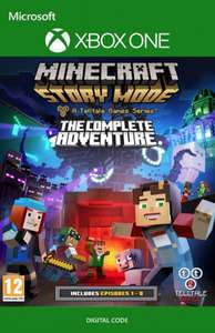Minecraft Story Mode Complete Adventure XBOX One - £5.99 (+5% Apple Pay/FB code) @ CDKEYS