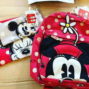 Reduced Disney items - Minnie Mouse kids backpack now £15 / Mickey Mouse Pouch set £4 instore @ Kath Kidston (Nottingham)