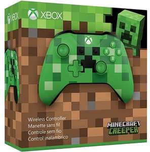 Xbox One Wireless Controller Minecraft Creeper Edition £34.19 @ Student Computers