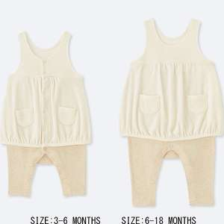 Baby nwe born overall - 90p (Free C&C) @ Uniqlo