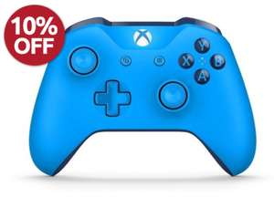 Official Xbox One Wireless controller (w/ 3.5mm jack) - Blue / White £34.19 w/ 10% discount applied at checkout + 12 months warranty + Free delivery @StudentComputers